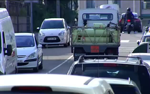 Conducía ebrio y sin puntos en Pontevedra