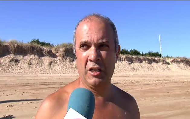 Trágico suceso en una playa de Noja