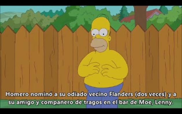 Homer Simpson se 'moja' por la ELA