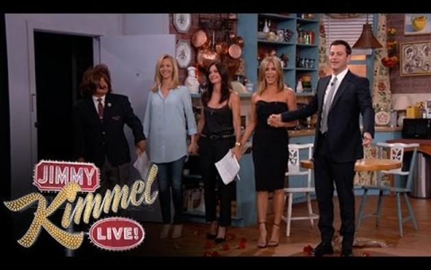 Las protagonistas de 'Friends'  reunidas por sorpresa