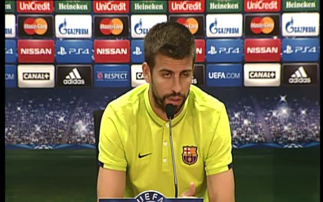 """Piqué reconoce que """"hace tiempo"""" que no se le valora por sus méritos deportivos"""