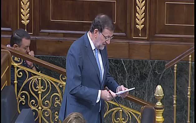 Declaraciones de Mariano Rajoy